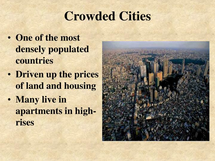 Crowded cities