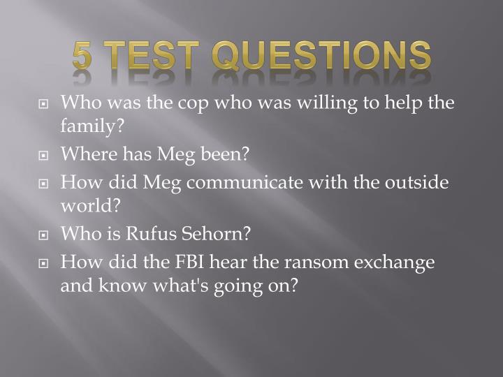 5 Test