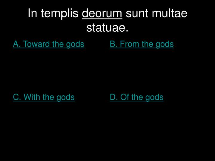 In templis