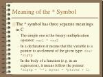 meaning of the symbol