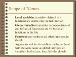 scope of names1