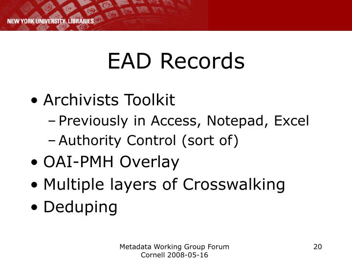 EAD Records