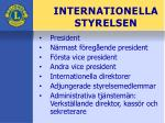 internationella styrelsen