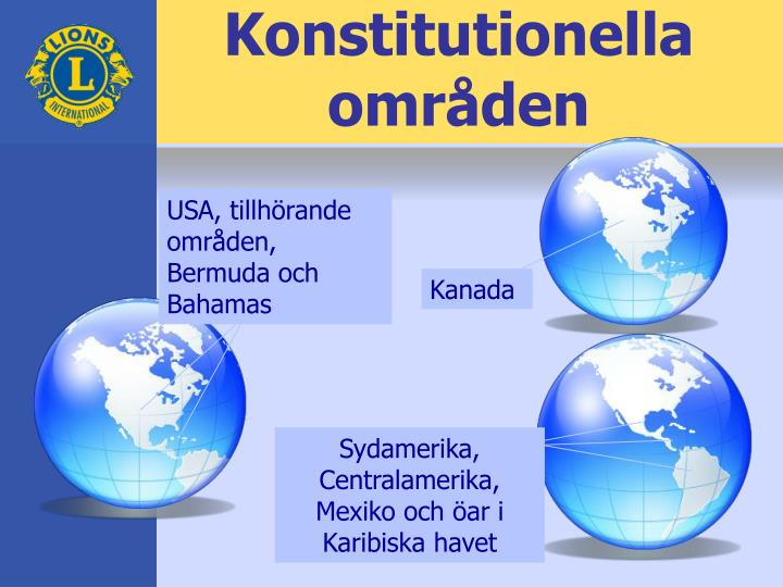Konstitutionella områden