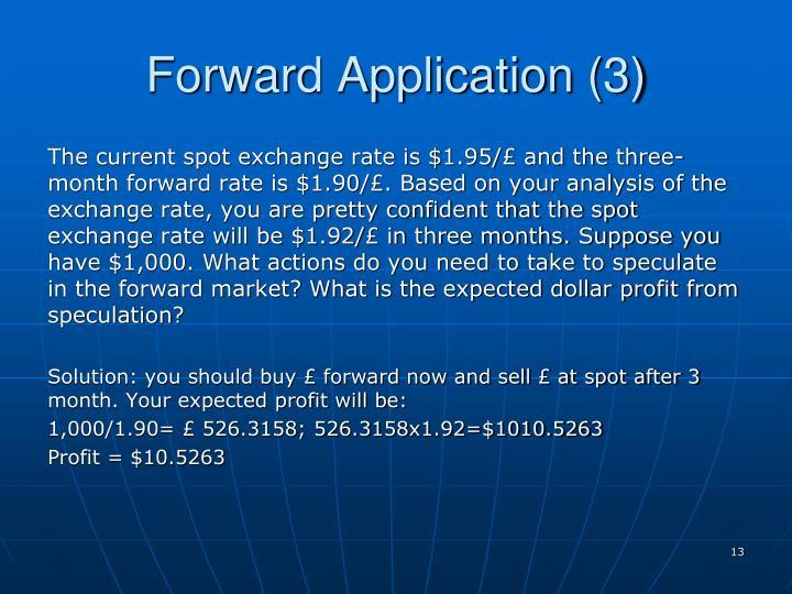 Forward Application (3)