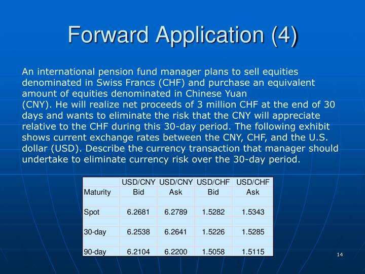 Forward Application (4)