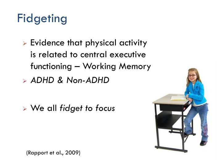 Fidgeting