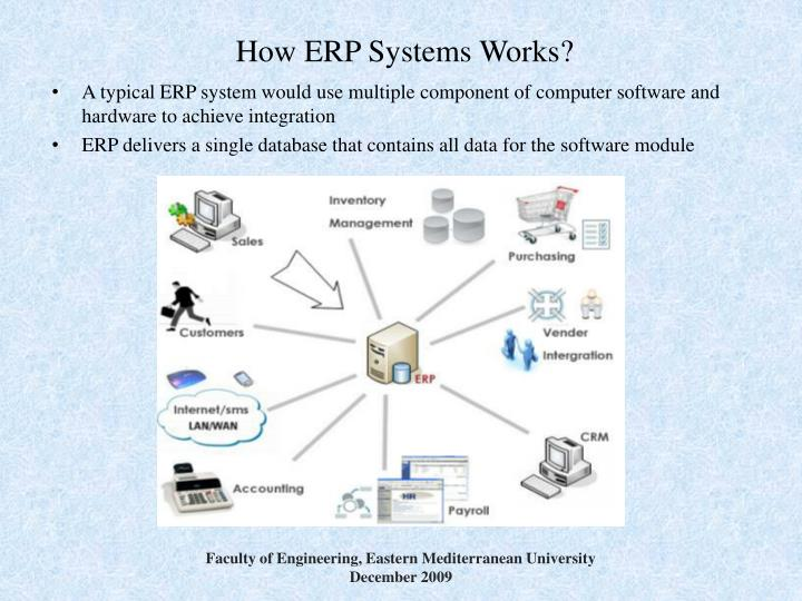 How ERP Systems Works?