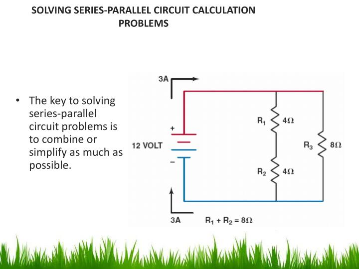 series parallel combination circuit problems pdf