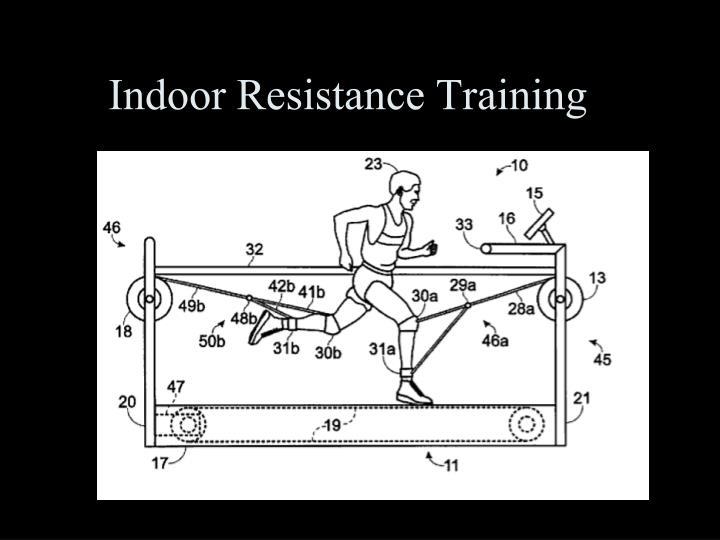 Indoor Resistance Training