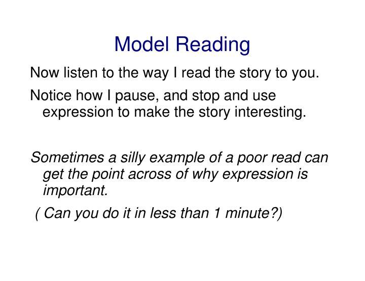 Model Reading