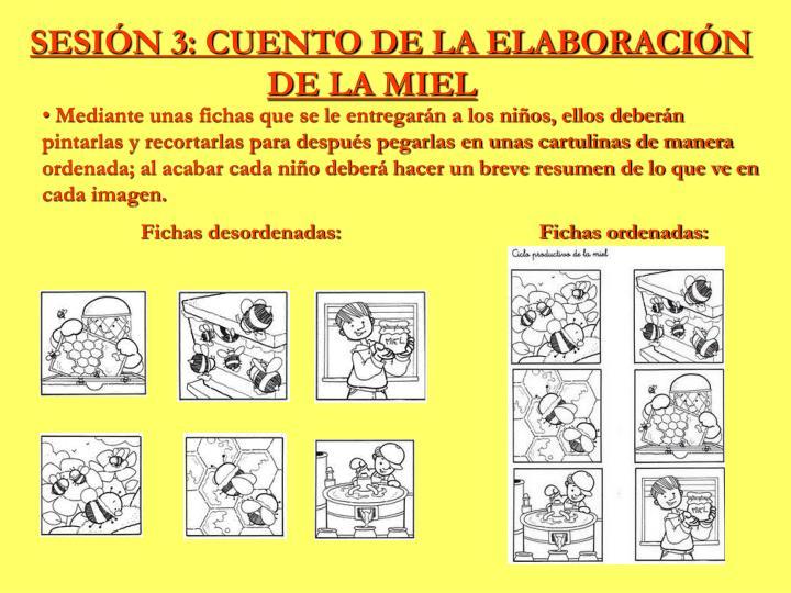 SESIÓN 3: CUENTO DE LA ELABORACIÓN