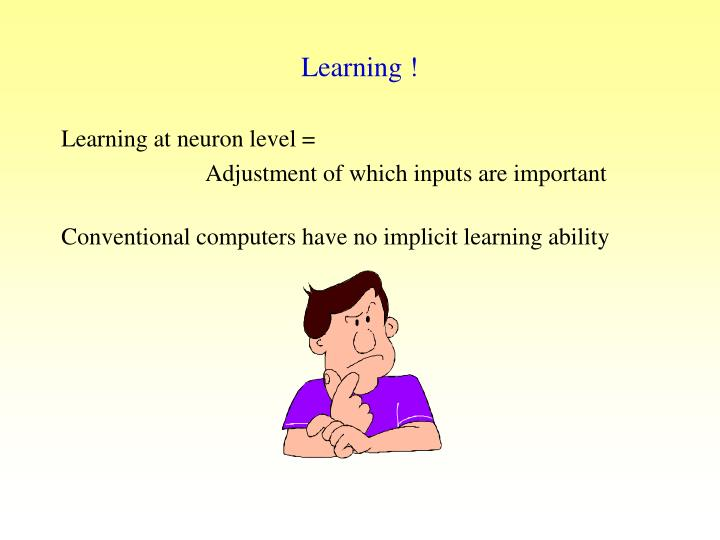 Learning !