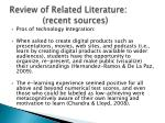 review of related literature recent sources1