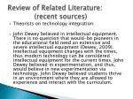 review of related literature recent sources10