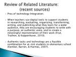 review of related literature recent sources2