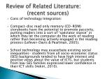 review of related literature recent sources4