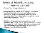 review of related literature recent sources5