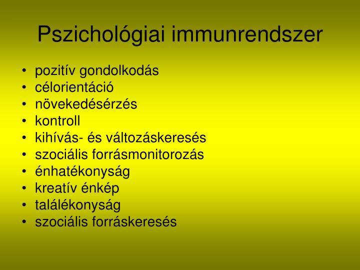 Pszichológiai immunrendszer