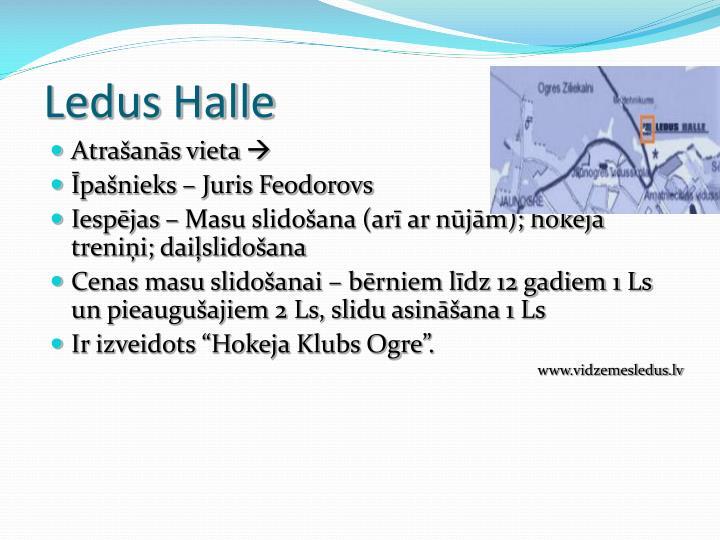 Ledus Halle