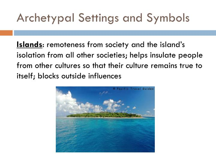 Archetypal Settings and Symbols