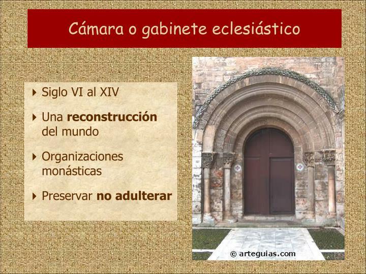 Cámara o gabinete eclesiástico