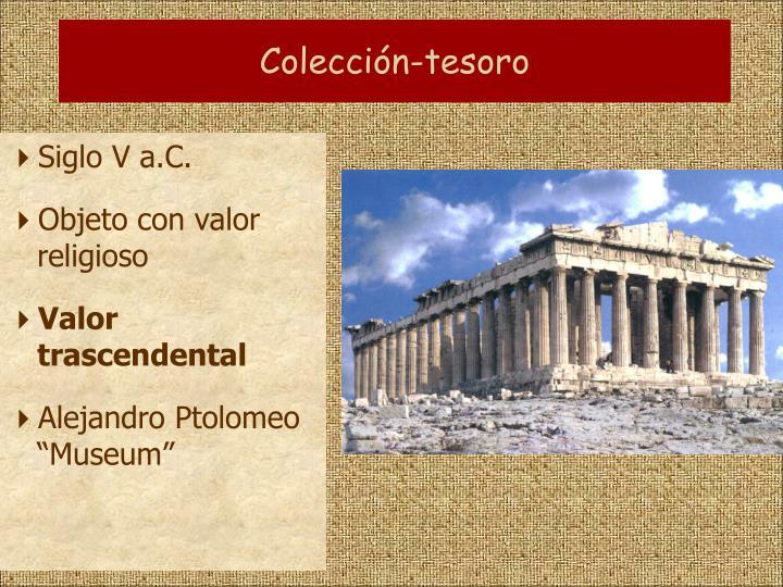 Colección-tesoro