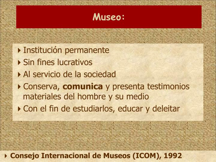 Museo: