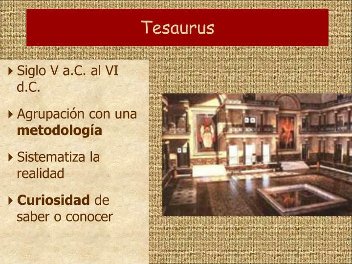 Tesaurus