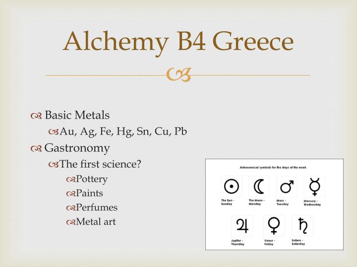 Alchemy B4 Greece
