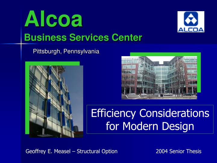 Alcoa business services center