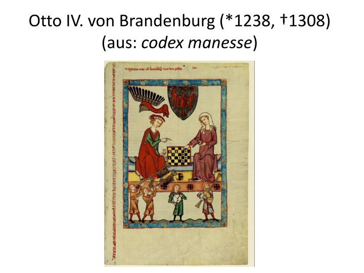 Otto IV. von