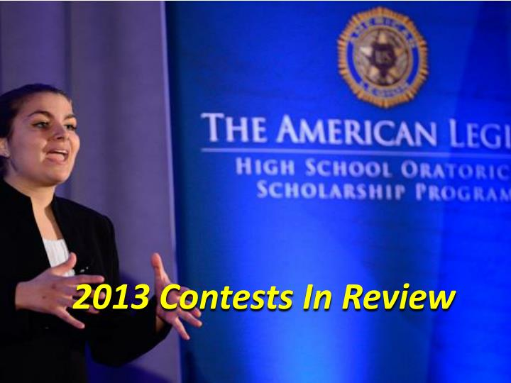 2013 Contests In Review