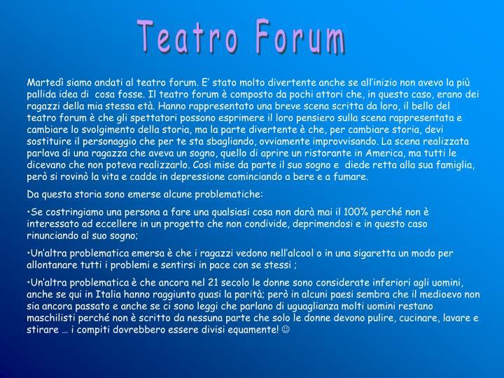 Teatro Forum