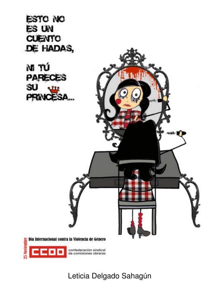 Leticia Delgado Sahagún