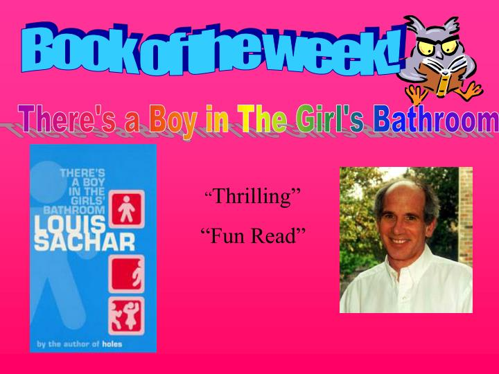 Book of the week!