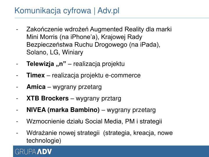 Komunikacja cyfrowa | Adv.pl