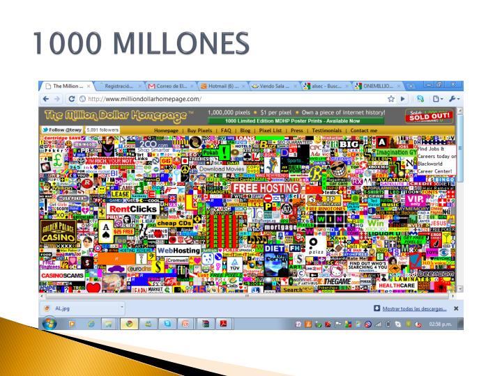 1000 MILLONES
