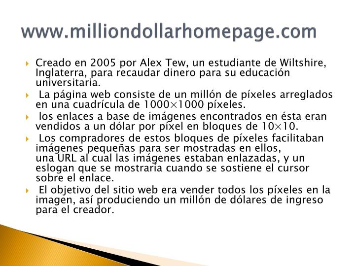 www.milliondollarhomepage.com