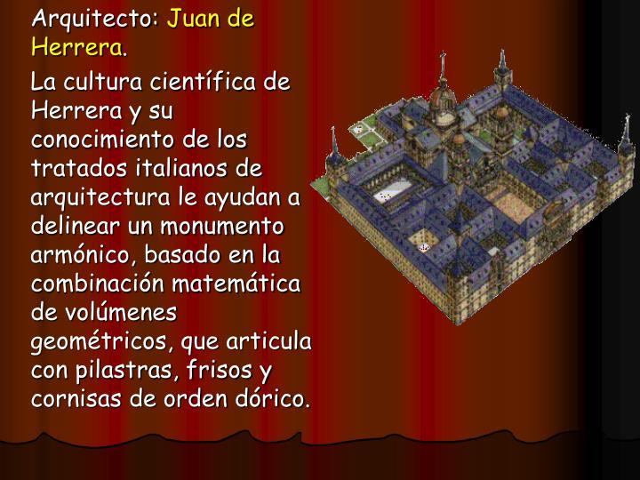 Arquitecto: