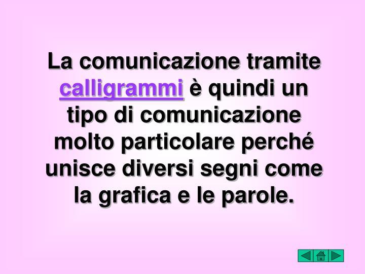 La comunicazione tramite