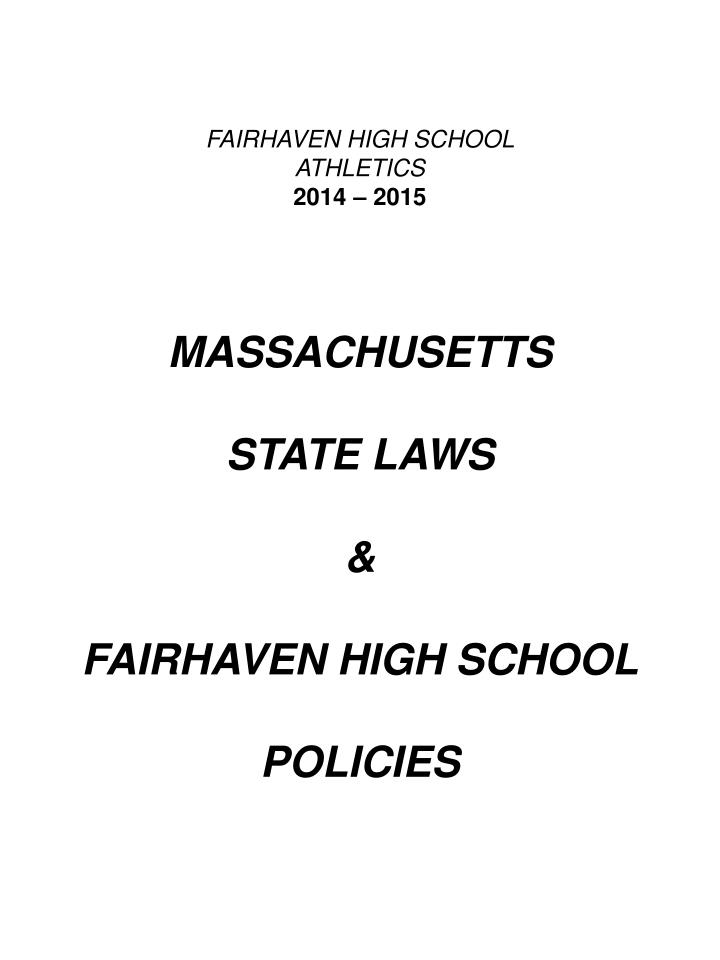 FAIRHAVEN HIGH SCHOOL