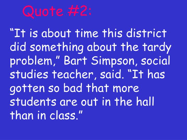 Quote #2: