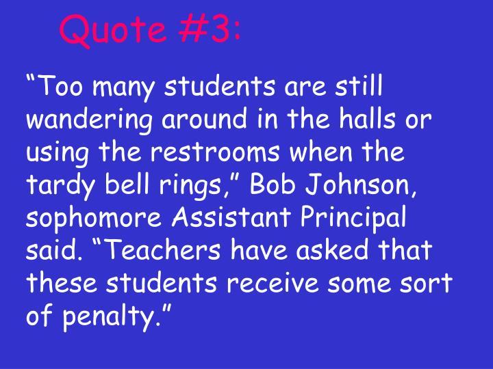 Quote #3:
