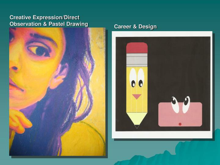 Creative Expression/Direct Observation & Pastel Drawing