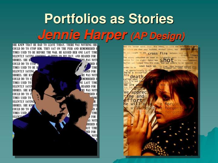Portfolios as Stories