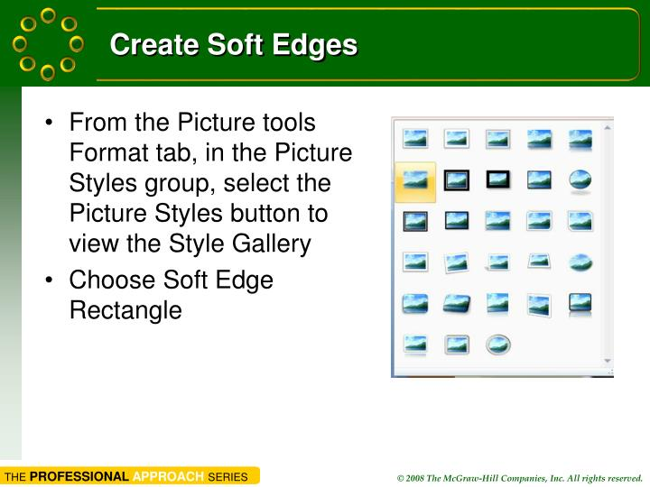 Create Soft Edges