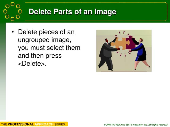 Delete Parts of an Image