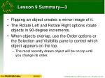 lesson 9 summary 3