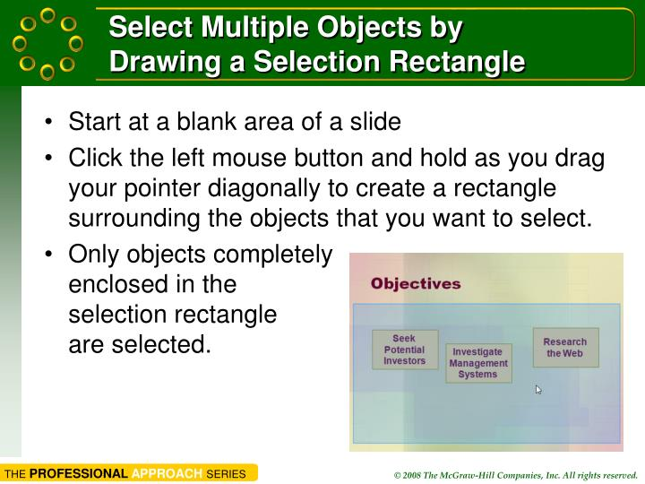 Select Multiple Objects by